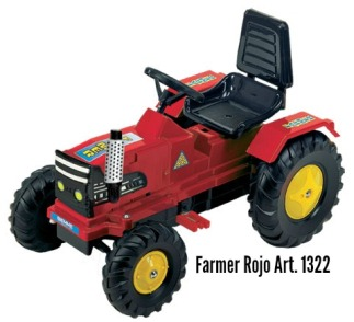 Farmer Rojo Art 1322